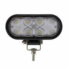 UNITED PACIFIC 36515B - 8 LED Oval Wide Angle Driving/Work Flood Light