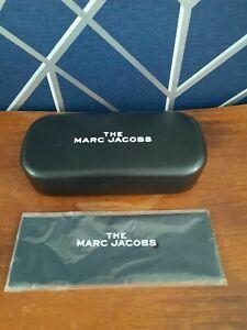 Brand New Black MARC JACOBS Designer glasses case with cloth.
