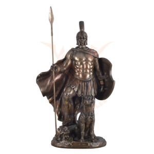 Odysseus with Argos cold cast bronze statue by Veronese highly detailed.Great.