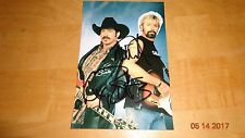 Kix Brooks & Ryan Dunn Signed Picture Autographed With COA RARE Singers