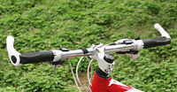 Cycling Lock-On Handlebar Rubber Mountain Bike Riding Bicycle Bar Grips Ends
