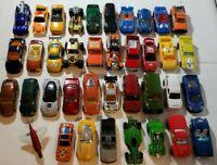 Lot 38 Matchbox and Hotwheels, random Diecast Cars , mixed lot, see pics