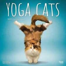 Yoga Cats Calendar 2021
