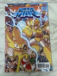 Mega Man. Sonic the hedgehog #12. Issue 52 Cover B. Archie Comics.