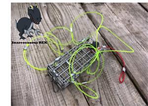 Crab Lobster & Crayfish Snare Trap Cage Pot Sea Pier Kayak Fishing Crabbing