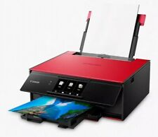 Canon PIXMA TS9155 All-In-One Printer 6-ink Home Inkjet A4 Red 2231C048