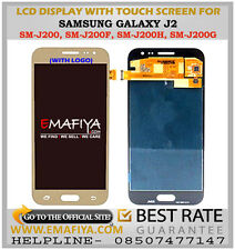 LCD Display Touch Screen Digitizer For Samsung Galaxy J2 SM-J200G Gold- 2015