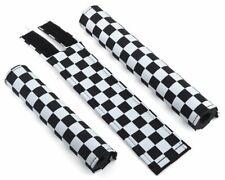 FLITE old school BMX foam padset pads - USA MADE!! - CHECKER BOARD BLACK