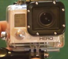 GO PRO HERO 3 WHITE Camcorder with Waterproof Housing, Battery and charging lead