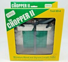 NWSL TOOL 69-4 THE CHOPPER II MINIATURE WOOD & STYRENE LENGTH CUTTER-NEW