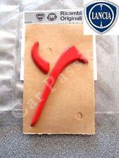 1 STEMMA LANCIA YPSILON Y 2011> MONTANTE PORTIERA ORIGINALE logo rosso emblem