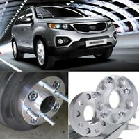 2pcs 5X139.7 95.3CB 25MM Hubcenteric Wheel Spacer Adapters For Kia Sorento 2002