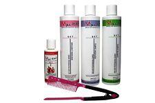 Complete Complex Brazilian Keratin Treatment Kit 4oz/10oz W/ FREE Comb