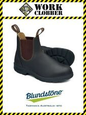 Blundstone Brown Elastic Sided Premium Leather Boot 600 NEW IN BOX!
