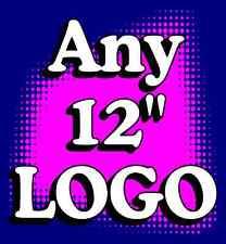 "2) Any Logo customizable Cornhole ""Baggo"" 12"" Decals"