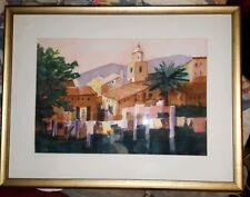 Original WATERCOLOR PAINTING, Framed & Matted, Signed MARY JO BESWICK