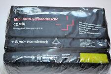 Holthaus Mini 3 in 1 Verbandtasche Verbandkoffer Erste Hilfe Warndreieck Weste