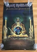 1988 Iron Maiden Funky Ent Seventh Son Of A Seventh Son Poster