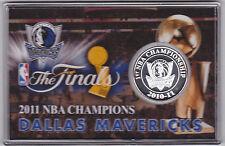 2011 Nba Champions Dallas Mavericks Silver Plated Medallion Limited Edition 5000
