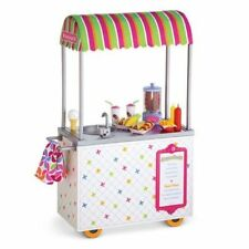 American Girl Campus Snack Cart for Doll New