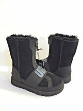 UGG CONNESS BLACK WATERPROOF SUEDE LEATHER BOOTS US 8 / EU 39 / UK 6