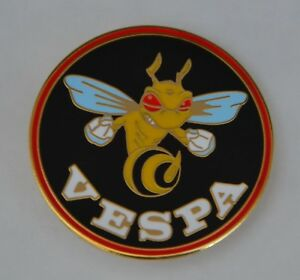 Vespa Wasp Mod Scooter Quality Enamel  Pin Badge