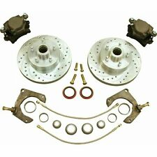 Mustang Ii 2 Front 11 Drilled Rotor Upgrade Disc Brake Kit For No Spindles Fits 1939 Ford