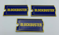 3 Vintage Blockbuster Video Store Magnets recently removed from sealed package