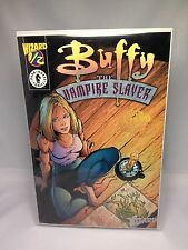 RARE BUFFY #½ GOLD WIZARD EDITION - GOLD FOIL w/ SIGNED CERTIFICATE Dark Horse