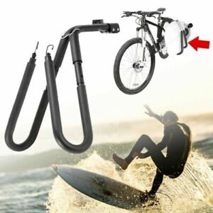 Adjustable Bike Surfboard Rack Bracket Bicycle Surfing Carrier Mount Seat Posts