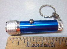 LED light Key chain, push button for bright light, several diff colors, NEW