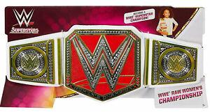 "WWE RAW WOMENS CHAMPIONSHIP BELT UP TO 32"" WAIST RED DIVA LYNCH ASUKA BANKS"