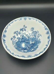 Mason's Patent Ironstone 'Fruit Basket' Blue Large Fruit Bowl-Excellent