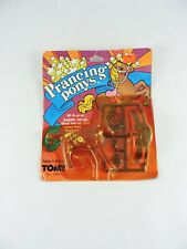 PRANCING PONYS Wind-up pony 1983 Tomy APPALOOSA Sealed vintage horses saddle