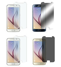4 x Samsung Galaxy S6 Klar + Matt + Spiegel + Privacy Displayschutzfolie Folie
