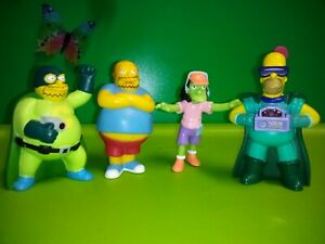The Simpsons Burger King Halloween toys Lot