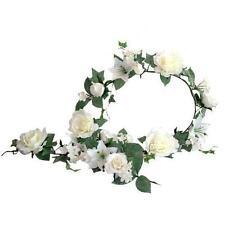 Faux Silk Rose Dried & Artificial Flower Garlands