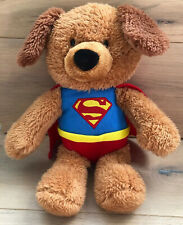 Gund DC Comics Superman Griffin Bear Plush Stuffed Animal 12""