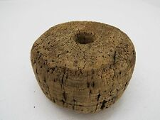 1 SMALL OLD 3+ INCH CORK FISHING FISH SEINE NET FLOAT SALMON  BUOY BOUY