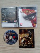 Juego PS3 - Playstation 3 - God Of War III - Lote 1