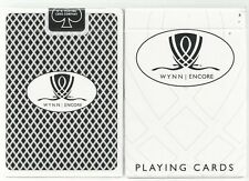 NEW☀WYNN ENCORE BLACK Playing Cards Sealed UNC Las Vegas USA US Playing Card☀