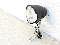 LED Scheinwerfer  mit Schalter für Nabendynamo + Standlicht + Senso Secu S 01008