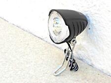 LED Scheinwerfer  mit Schalter für Nabendynamo + Standlicht 30 Lux Secu S 01007