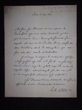 ✒ L.A.S. Alexis ARTAUD de MONTOR diplomate homme de lettres 1825
