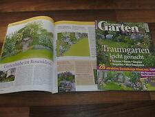 GARTEN SPECIAL: TRAUMGARTEN LEICHT GEMACHT/Gartenlaube / Mini-Grundstück / Rasen