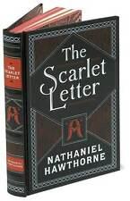 SCARLET LETTER ~ NATHANIEL HAWTHORNE ~ LEATHERBOUND GIFT EDITION