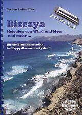 Harmonica-juego cuaderno sin notas: Vizcaya-viento & mar ya &... - Bluesharp