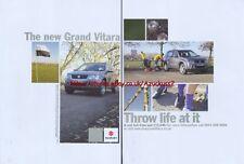 Suzuki Grand Vitara 4x4 2005 Double Page Magazine Advert #2956