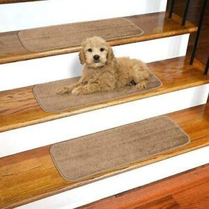 Ottomanson SST Softy Stair TREADS, 13 Pack, Beige, 13 Count
