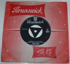 BING CROSBY & VICTOR YOUNG, AROUND THE WORLD, 1957 BRUNSWICK 05674, THEME, EX-